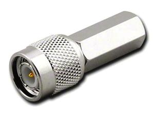 Штекер TNC на кабель RG 58/U накрутка Ni/Gold pin/Delrin