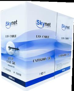 Кабель UTP indoor 2x2x0,51 Cu, Fluke test, 305м., SkyNet Premium