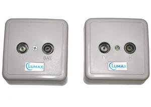 Розетка ТВ Lumax LOS-102 TV+SAT
