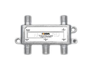 Ответвитель 3 отвода 14 дБ 5-1000 МГц, CADENA