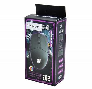 Мышь проводная Z62 (USB, 1600 dpi, оптическая, 2 кнопки)