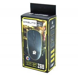Мышь проводная Z69 (USB, 1600 dpi, оптическая, 2 кнопки) PCM44