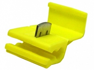 Кабельный соединитель 4.0-6.0mm2 / 12-10AWG (желтый)