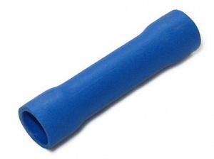 Муфта для кабеля 1.5- 2.5mm2 изолир. BV2 опрессовка (синий)