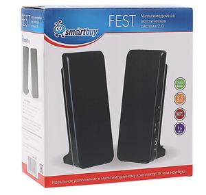 Колонки мультимедийные SmartBuy FEST,мощность 4Вт,питание USB (арт.SBA-2500)/40