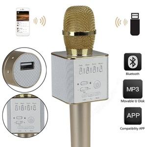 Колонка-микрофон Q-9 (Bluetooth/USB/Радио)