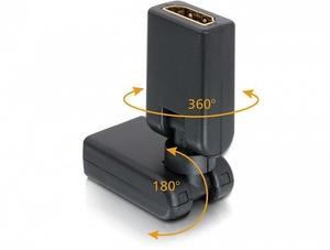 OT-AVW31 переходник (HDMI гнездо - HDMI гнездо)
