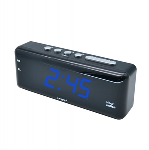 Часы эл. VST762T-5 син.цифры (говорящие)
