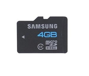 Карта памяти microSD Samsung, 10 класс, 4GB