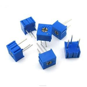 Резистор подстроечный (потенциометр) 3362P-1-201 200 Ом