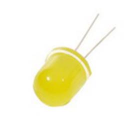 Светодиод 12мм, 3V Жёлтый