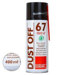 Пневматический очиститель пыли REXANT DUST OFF, 400 мл