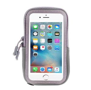 OT-SMH10 Серый чехол-нарукавник для смартфона