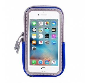 OT-SMH10 Синий чехол-нарукавник для смартфона