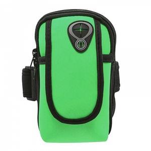 OT-SMH11 Зеленый чехол-нарукавник для смартфона