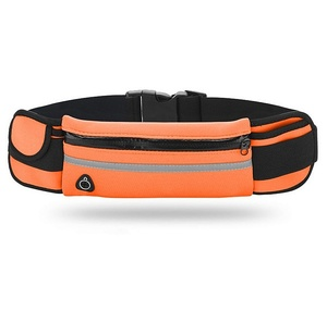 OT-SMH12 Оранжевый сумка-ремень для смартфона