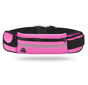OT-SMH12 Розовый сумка-ремень для смартфона