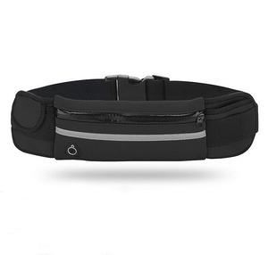 OT-SMH12 Черный сумка-ремень для смартфона