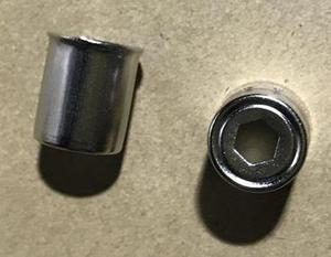 MA0372W !Колпачок магнетрона СВЧ 14.5mm/H18 (шестигранник отверстие), KMG014