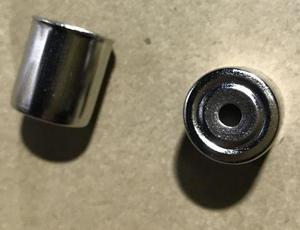 MA0370W !Колпачок магнетрона СВЧ 15mm/H17 (круглое отверстие), KMG001