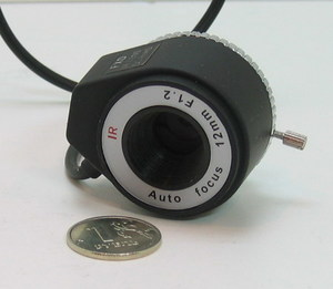 Объектив FFA-1212DC (12mm, F1,2, CS, авто диафр.)