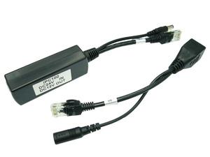 POE адаптер, макс. 100м., in 24V, out 12V