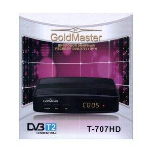 GoldMaster T-707HD ресивер DVB-T2