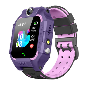OT-SMG04 Фиолетовые GPRS часы