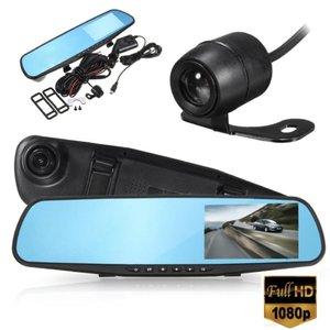 Видеорегистратор зеркало с камерой заднего вида DV-430
