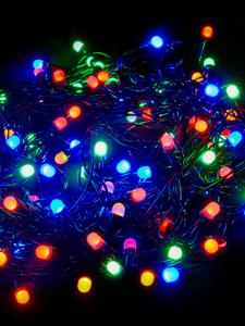 Гирлянда CADENA, 100 крупных LED, 10 метров, многоцветная, удлиняемая, уличная, 18024-1N