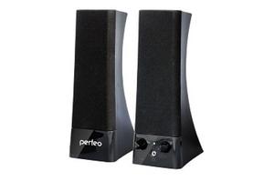 """Колонки Perfeo """"TOWER""""  2.0, мощность 2х3 Вт (RMS), USB, чёрные (PF-532)"""