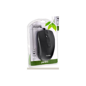 Мышь проводная Perfeo PROFIL, 4 кн, USB, черная (PF-383-OP-B/B) PF_4932