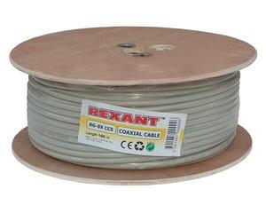 "Кабель коаксиальный  RG8х (50 Ом) ""Rexant"""