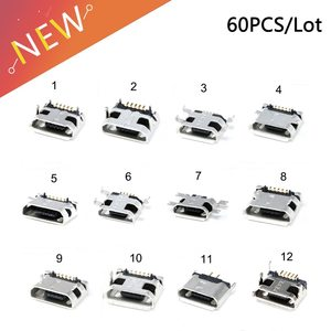 Гнездо на плату micro USB 5pin (Тип 5)