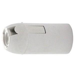 """Электропатрон пластиковый термостойкий подвесной Е14 (белый) """"Rexant"""""""