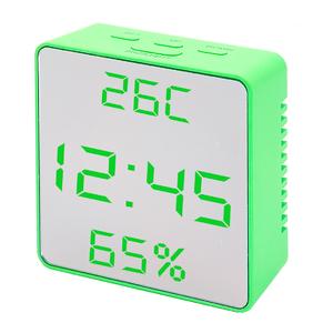 VST887Y-4 Зеленые часы настольные (без блока)