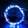 Огонек OG-LDL08 Синяя светодиодная лента 5м (USB)