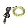Огонек OG-LDL09 Желтая светодиодная лента 1м (USB)