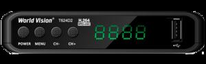 Ресивер DVB-T2 World Vision T624 D2