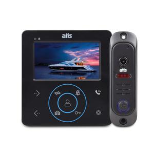 Комплект видеодомофона Atis AD-480 MB Kit box