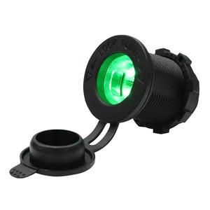 Разъем прикуривателя в авто (врезной) 12V-24V GH-C5 LED
