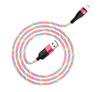 HOCO U85 Красный кабель USB 2.4A (iOS Lighting) 1м