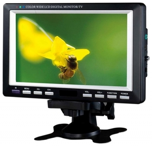 "Телевизор с DVB-T2 DA-700 (7"", 640x480,SD,MKV,USB,ДУ, 12В)"