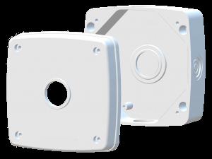 Пластиковая  монтажная коробка для уличных видеокамер  МК-1 Pro