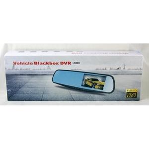 Видеорегистратор зеркало L9000-2 4.3/ 2 камеры