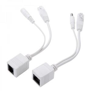Переходник белый для IP камер POE (инжектор питания)