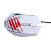 Мышь RITMIX ROM-350 White, ИГРОВАЯ, 6 кнопок, 800-2400 dpi, коробка