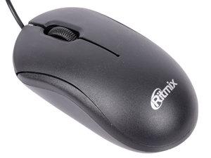 Мышь RITMIX ROM-111 BLACK, 1000Dpi,