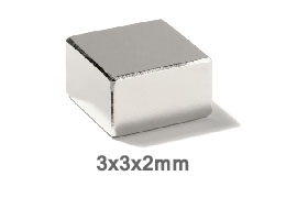 Магнит B 3x3x2 N35