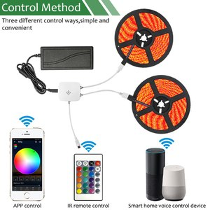 Огонек OG-LDL26 LED контроллер (Wi-Fi, 2*RGB,пульт)